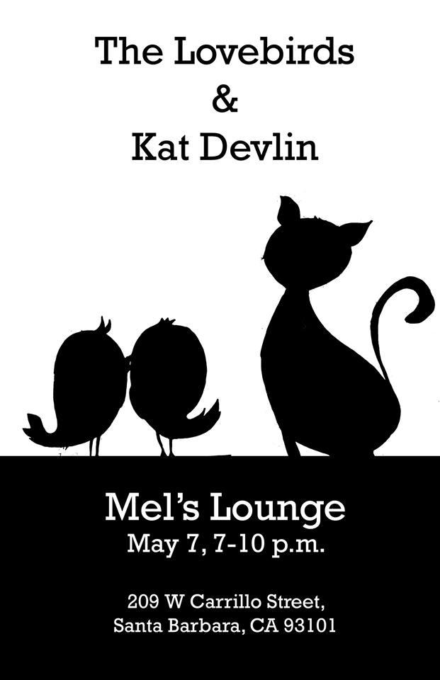 Lovebirds Kat Devlin Mel's Lounge